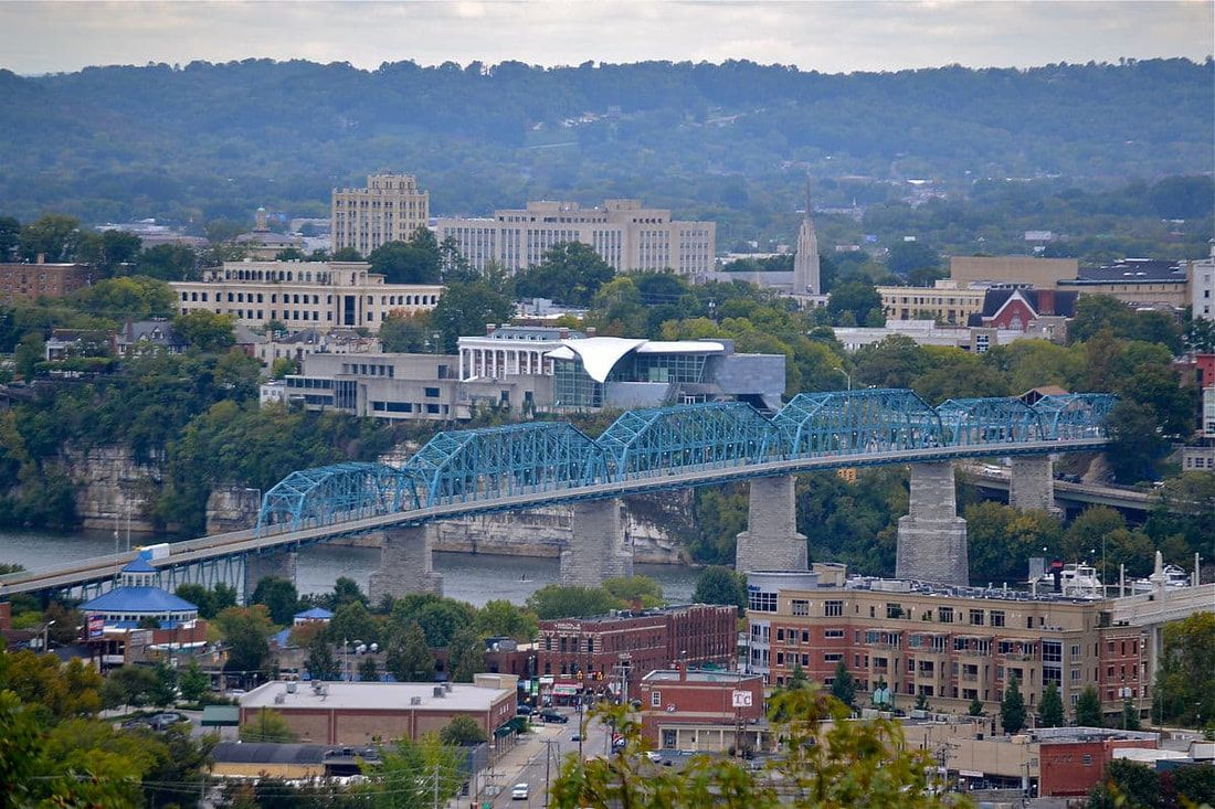 Overview of Chattanooga, TN